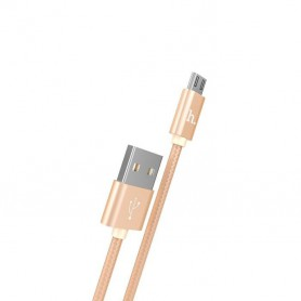 HOCO - HOCO Knitted X2 Cable USB to Micro-USB - USB to Micro USB cables - H100169-CB