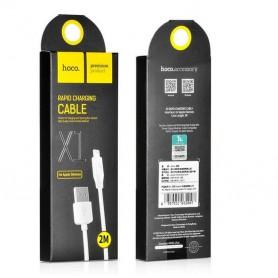 HOCO, Lightning la USB 2.0 2.1A Cablu de date Hoco Premium pentru Apple iPhone, iPhone cabluri de date , H60412-CB, EtronixCe...
