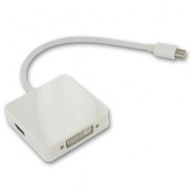 NedRo, 3in1 Mini DisplayPort to DVI, HDMI and DisplayPort YPC277, DVI si DisplayPort adaptoare, YPC277, EtronixCenter.com
