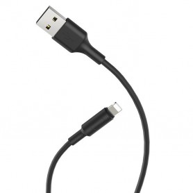 HOCO, Hoco Soarer X25 Lightning naar USB 2.0 data kabel voor Apple iPhone, iPhone datakabels, H100151-CB, EtronixCenter.com