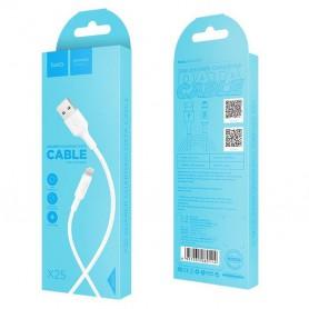 HOCO, Hoco Soarer X25 Cablu de date USB 2.0 la Lightning pentru Apple iPhone, iPhone cabluri de date , H100151-CB, EtronixCen...