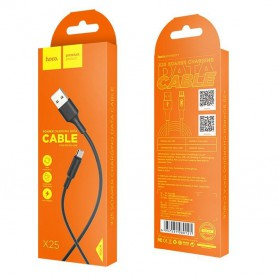 HOCO, HOCO USB naar Micro-USB Soarer X25 kabel, USB naar Micro USB kabels, H100153-CB, EtronixCenter.com