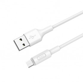 HOCO, HOCO Soarer X25 Cable USB to Micro-USB, USB to Micro USB cables, H100153-CB, EtronixCenter.com