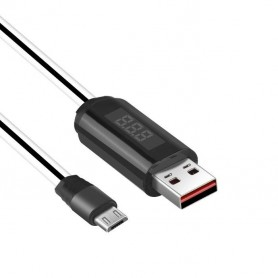 HOCO, HOCO USB to Micro-USB Charging cable with LED display and Timer, USB to Micro USB cables, H61148-CB, EtronixCenter.com