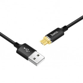 HOCO - Hoco U28 Magnetic micro USB charging cable - USB to Micro USB cables - H61105-CB www.NedRo.us