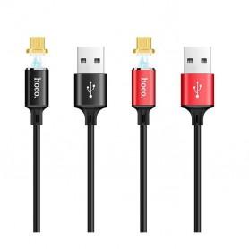 HOCO - Hoco U28 Magnetische Micro USB oplaadkabel - USB naar Micro USB kabels - H61105-CB www.NedRo.nl