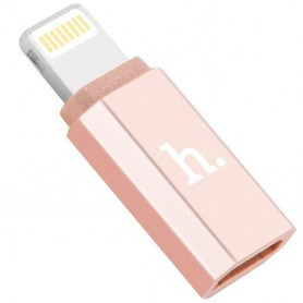HOCO - Hoco OTG Micro USB to Lightning Adapter for iPhones and iPads - USB adapters - H61138 www.NedRo.us