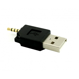 2.5mm Audio Jack 4 Pole to USB Adapter