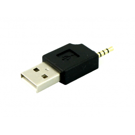 NedRo - 2.5mm Audio Jack 4 Pole to USB Adapter - USB to Audio cables - AL309 www.NedRo.us