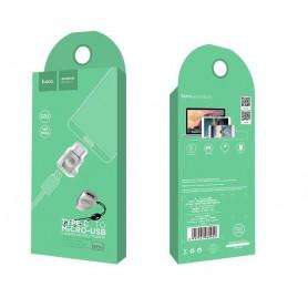 HOCO - Hoco UA8 Adaptor Micro USB la Tip-C pentru încărcarea și sincronizarea datelor - Adaptoare USB - H61039 www.NedRo.ro