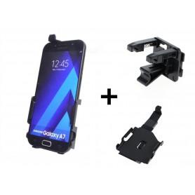 Haicom - Auto Ventilator Haicom klem houder voor Samsung Galaxy A7 HI-502 - Auto ventilator telefoonhouder - HI004-SET www.Ne...