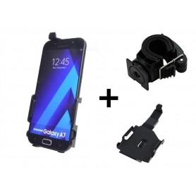 Haicom - Haicom Fietshouder voor Samsung Galaxy A7 HI-502 - Fiets telefoonhouder - HI005-SET www.NedRo.nl