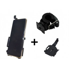 Haicom - Haicom phone holder for Samsung Galaxy S9 HI-514 - Bicycle phone holder - HI031-SET-CB www.NedRo.us