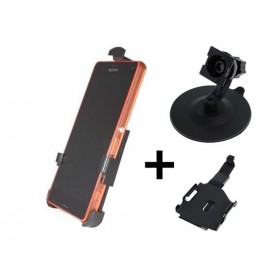 Haicom - Haicom phone holder for Sony Xperia Z3 compact HI-396 - Bicycle phone holder - HI036-SET-CB