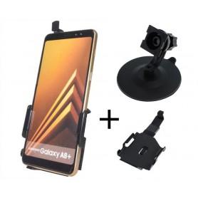 Haicom - Haicom phone holder for Samsung Galaxy A8 Plus HI-513 - Bicycle phone holder - HI062-SET-CB