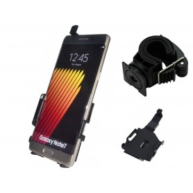 Haicom - Haicom phone holder for Samsung Galaxy Note 7 HI-489 - Bicycle phone holder - HI076-SET-CB www.NedRo.us