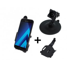 Haicom, Haicom phone holder for Samsung Galaxy A3 (2017) HI-499, Bicycle phone holder, HI081-SET-CB