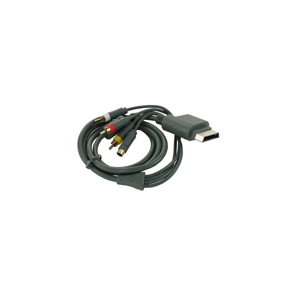 S-Video + AV tulp (composiet) kabel voor XboX 360 1.8m YGX576