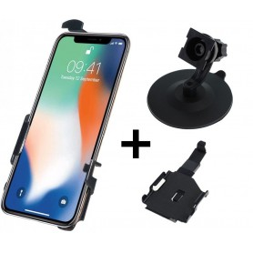 Haicom - Haicom phone holder for Apple iPhone XS HI-517 - Bicycle phone holder - HI096-SET-CB www.NedRo.us