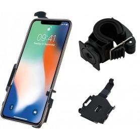 Haicom - Haicom houder voor Apple iPhone XS HI-517 - Fiets telefoonhouder - HI096-SET-CB www.NedRo.nl