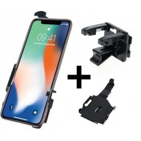 Haicom - Haicom phone holder for Apple iPhone XS HI-517 - Bicycle phone holder - HI096-SET-CB
