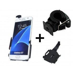 Haicom - Haicom phone holder for Samsung Galaxy S7 HI-462 - Bicycle phone holder - HI136-SET-CB