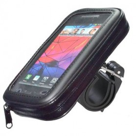 Haicom - Haicom Universal bicycle holder (Size S) 13.9 x 7 cm - Bicycle phone holder - HI161-SET
