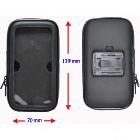 Haicom - Haicom Suport universal pentru biciclete (Marime S) 13,9 x 7 cm - Suport telefon pentru biciclete - HI161-SET www.Ne...