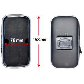 Haicom - Haicom Suport universal pentru biciclete (Marime L) 15.8 x 7.8 cm - Suport telefon pentru biciclete - HI160-SET www....