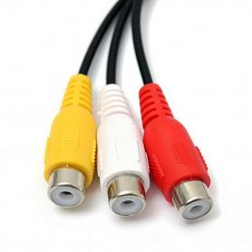 NedRo, Jack de 2.5mm cu 4 poli - Adaptor audio audio compozit AV, Adaptoare audio, AL311, EtronixCenter.com