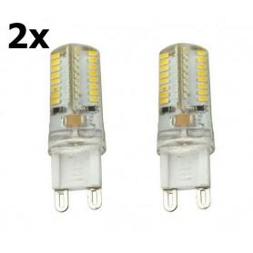 NedRo - G9 7W Bec cu LED-uri Alb Cald SMD3014 64LED`s AL300-7WW - G9 LED - AL300-7WW-CB www.NedRo.ro
