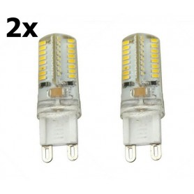 Oem - G9 7W Warm White 64LED`s SMD3014 LED Lamp - Not dimmable - G9 LED - AL300-7WW-CB