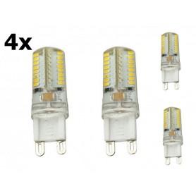 NedRo - G9 7W Warm Wit 64LED`s SMD3014 LED Lamp - NIET DIMBAAR - G9 LED - AL300-7WW-CB www.NedRo.nl