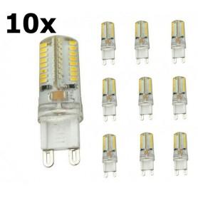 NedRo - G9 7W Bec cu LED-uri Alb Rece SMD3014 64LED (nereglabil) - G9 LED - AL300-7CW-CB www.NedRo.ro