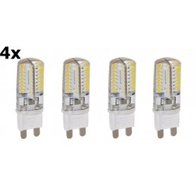 NedRo - G9 9W Warm Wit 48LED SMD2835 LED Lamp (niet dimbaar) - G9 LED - AL300-9WW-CB www.NedRo.nl