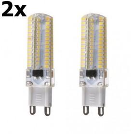 NedRo, G9 10W Bec cu LED-uri Alb Cald SMD3014 96LED`s AL300-10WW, G9 LED, AL300-10WW-CB, EtronixCenter.com