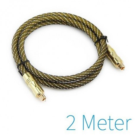 unbranded, Optical Toslink cable gold plated, Audio cables, YAK030-CB