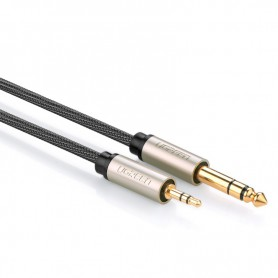UGREEN 3.5mm Male to 6.35mm Male Jack Audio Cable