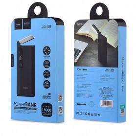HOCO, HOCO PSB27 15000mAh Power Bank 2A / 1A cu lampă LED, Powerbanks, H60732-CB, EtronixCenter.com