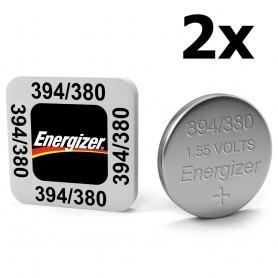 Energizer - Energizer Watch Battery 394 / 380 AG9 SR936SW 60mAh 1.55V - Button cells - BS337-CB