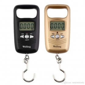 NedRo - Digital luggage travel scale with hook up to 50 kg - Digital scales - AL317-CB