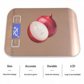 NedRo, Digitale Keuken Weegschaal Melk meetschaal tot 5Kg, Digitale weegschalen, AL318-CB, EtronixCenter.com