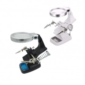 NedRo - Lupa Gadget cu brate 3x și 4.5x Zoom cu lumina LED - Lupe și Microscoape - AL322-CB www.NedRo.ro