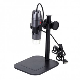 Datyson Optics, USB Digitale Microscoop 800x Zoom LED verlichting en standaard, Loepen en Microscopen, AL323, EtronixCenter.com