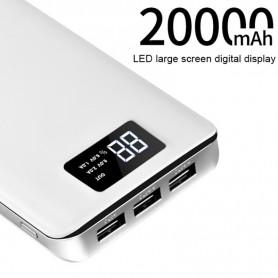 HOCO - 20000mAh HOCO B20A Mige Dual USB Powerbank 5V/2.1A - Powerbanks - H60375-CB www.NedRo.ro