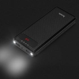 HOCO - 20000mAh HOCO B20A Mige Dual USB Powerbank 5V/2.1A - Powerbanks - H60375-CB www.NedRo.nl