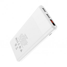 HOCO, 12000mAh HOCO B35C Airplane Allowed Powerbank 5V/2.1A, Powerbanks, H100239-CB, EtronixCenter.com