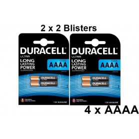 Duracell - Duracell Ultra AAAA MX2500 E96 LR8D425 MN2500 - Other formats - BS338-CB www.NedRo.us