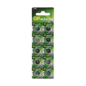 GP - GP LR44/76A/V13GA/A76 1.5v Alkaline button cell battery - Button cells - BS112-CB www.NedRo.us
