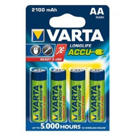 VARTA AA / Micro / HR06 2100mAh 1.2V Rechargeable Battery